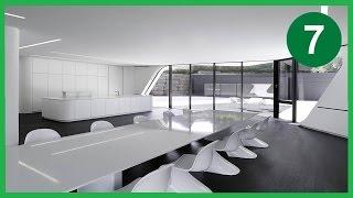 7 Casas de diseño futurista