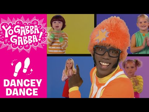 DJ Lance Dance - T-Rex Stomp - Yo Gabba Gabba!