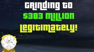GTA Online Grinding to $383 Million Legitimately And Helping Subs
