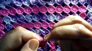 Circulo em crochê sem cortar o fio