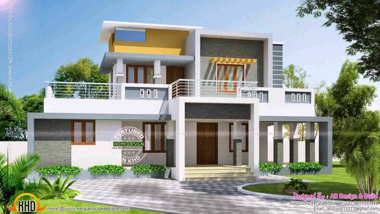 Modern box style house plans youtube for Modern box house design
