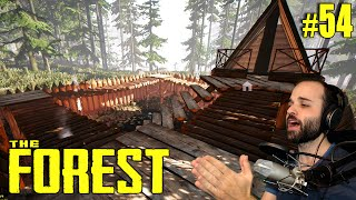 The Forest #54 | BASE MUY ACOGEDORA :) | Gameplay Español