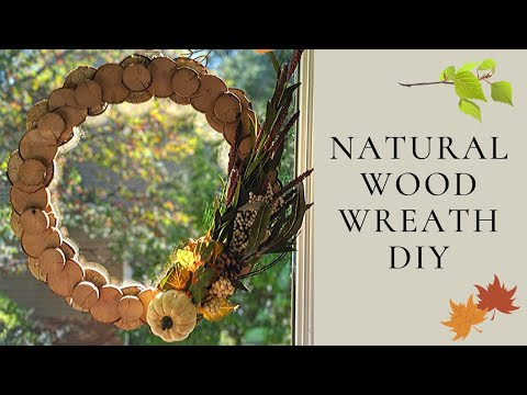 wood-slice-wreath---wood-projects-for-home-decor
