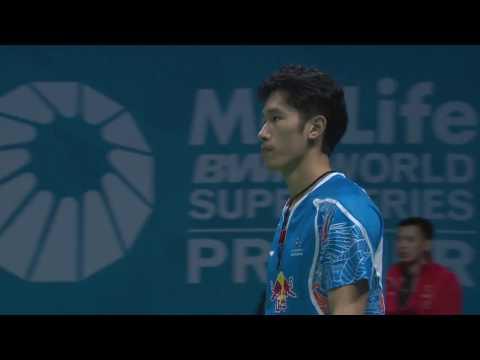 Dubai World Superseries Finals 2016 | Badminton F M2-MS | Tian Houwei vs Viktor Axelsen