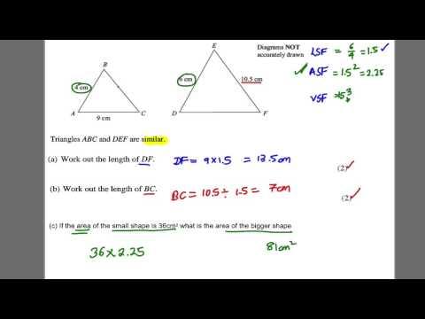 GCSE Revision Video 30 - Similar Shapes