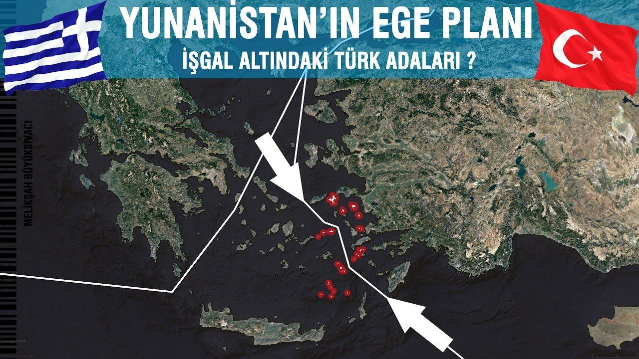 Yunanistan'ın Ege Planı | İşgal Edilen TÜRK Adaları ...