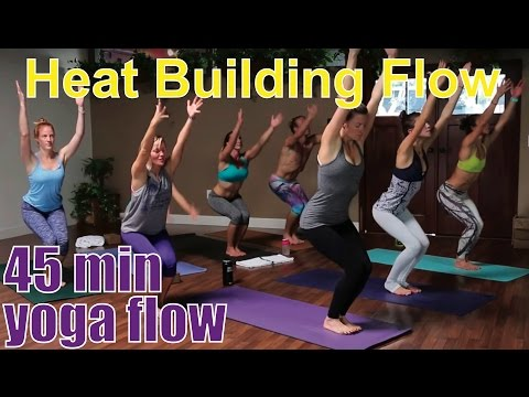 45 Minute Yoga Class - Heat Building Flow