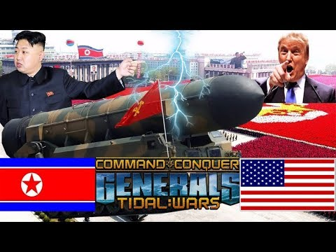 C&C Generals | Nuclear attack on the United States