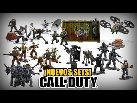 ¡NUEVOS SETS! | CALL OF DUTY MEGA CONSTRUX