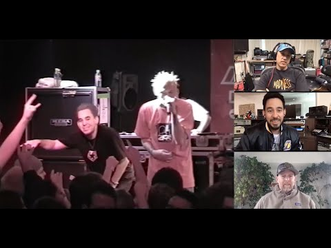 Linkin Park Reacts To A Linkin Park Show From 2001