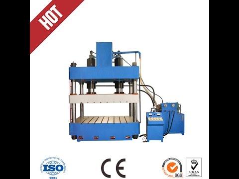 4 column Deep Drawing Hydraulic Press machine, Prensa hidráulica de la máquina