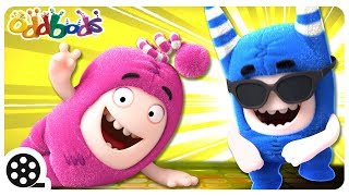DANCING WITH ODDBODS | Funny Cartoons For Children | The Oddbods Show