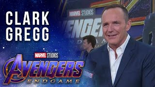 Clark Gregg looks back on Coulson LIVE at the Avengers: Endgame Premiere