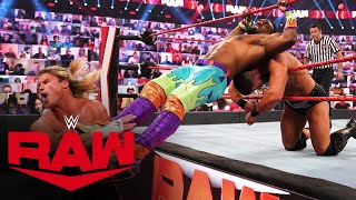 The New Day vs. Dolph Ziggler & Robert Roode - Raw Tag Team Championship Match: Raw, Oct. 12, 2020