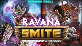 Smite: The Pain Bringer!- Ravana PTS Jungle Gameplay