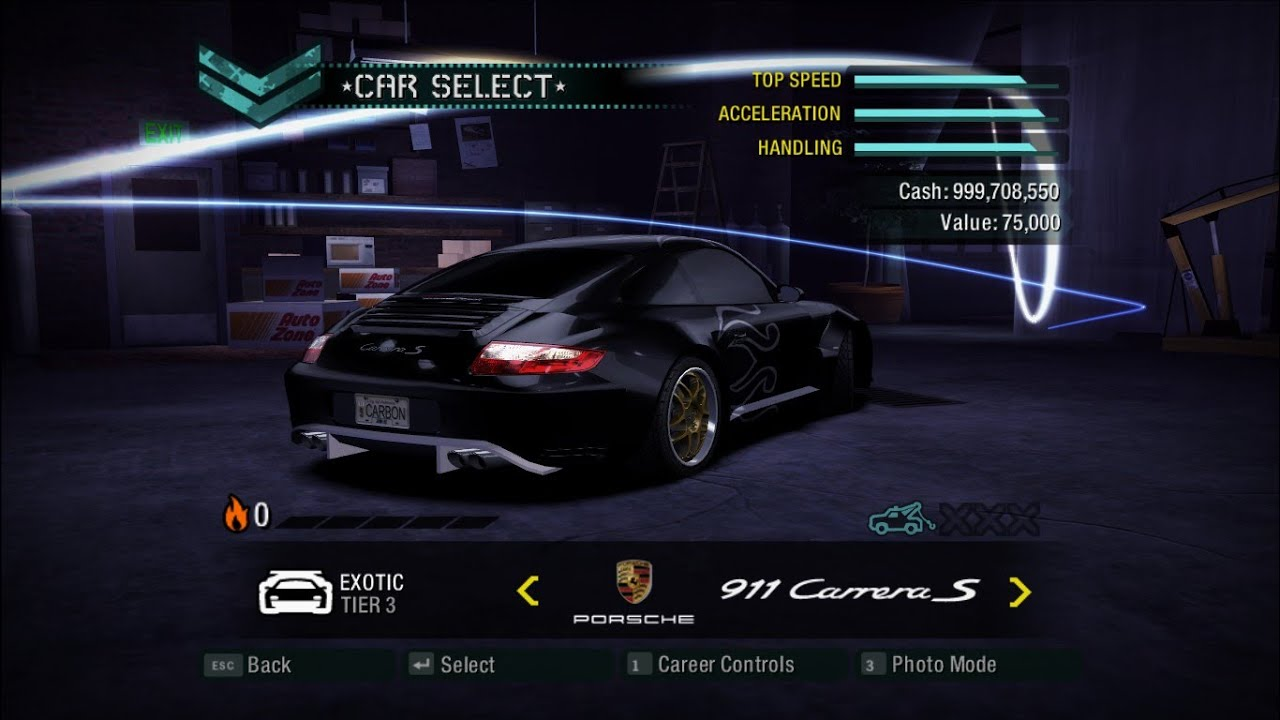 Need For Speed Carbon Crash Fix