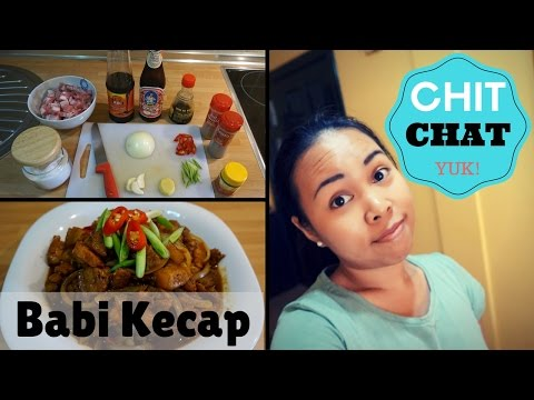 BERKEBUN   CHIT-CHAT   RESEP BABI KECAP // VLOG#19