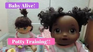 Baby Alive! - Potty Training
