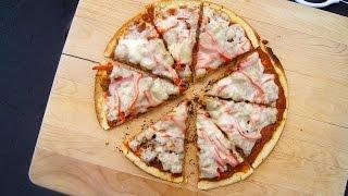 Basil Pesto Italian Pizza Recipe