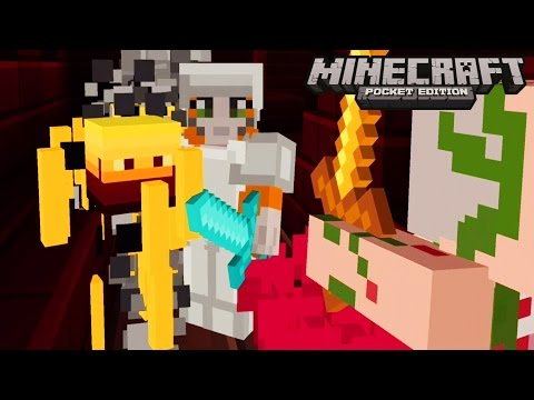 Minecraft: Pocket Edition - Getting Dangerous - No Home Challenge