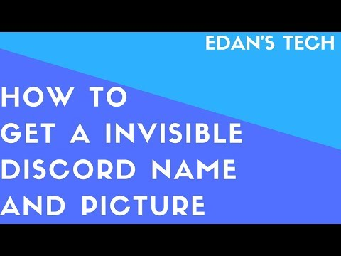 Download How To Get Invisible Profile Picture And Name In Discord L