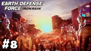 #8【TPS】【生放送】「アースディフェンスフォースアイアンレイン(ノーマル)」【Earth Defense Force: Iron Rain】【PS4】 thumbnail