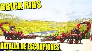 BRICK RIGS - ESCORPIÓN MECÁNICO, BULLDOZER, Y TÓ LO BUENO