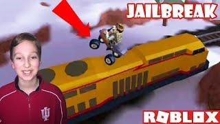 ROBLOX JAILBREAK TRAIN UPDATE!! | COLLINTV GAMING