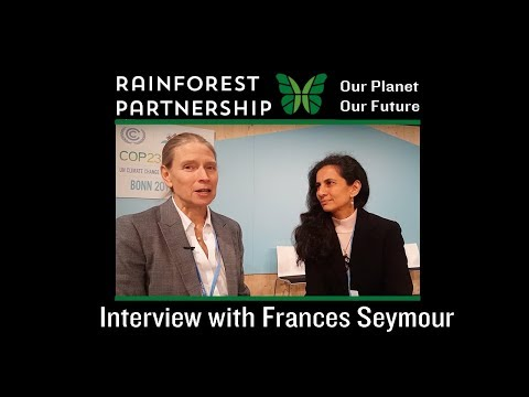 Our Planet. Our Future. -  Interview with Frances Seymour