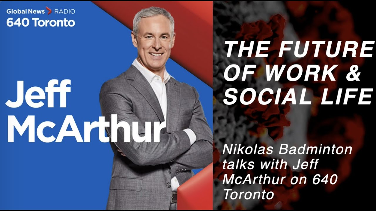 The Future of Work and Social Life with Futurist Speaker Nikolas Badminton