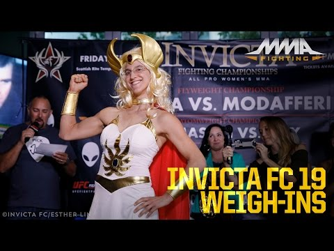 Invicta FC 19 Weigh-In Highlights