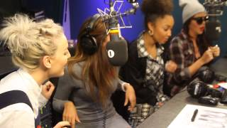 Little Mix sing How Ya Doin? Acapella