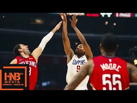 New Orleans Pelicans vs LA Clippers Full Game Highlights / April 9 / 2017-18 NBA Season