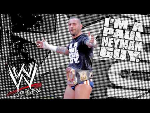 CM Punk 2nd WWE Theme Song - Cult of Personality with Download Link