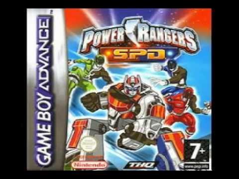 POWER RANGERS S.P.D. ON NINTENDO gameboy advance REVIEW