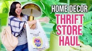 HOME DECOR Thrift Store Haul! - HGTV Handmade