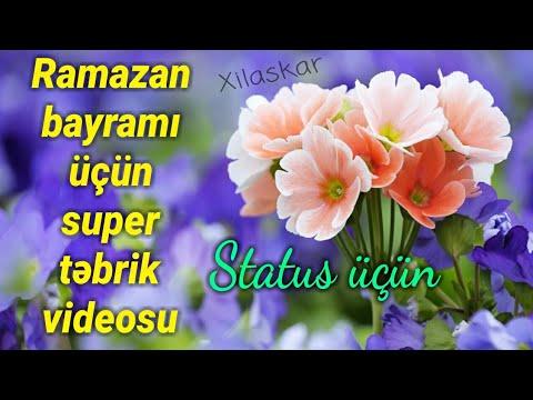 Təbrik su - Ramazan bayramı üçün (Super  status üçün)