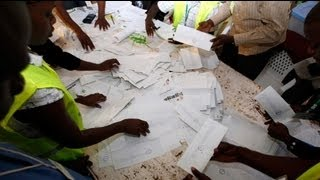 Vote count begins in tight presidential race in Kenya