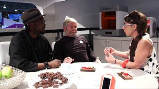 CES 2015: Will.i.am's 3D Printer Turns Trash Into Ornate Objects