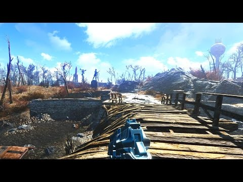 60FPS Fallout 4 PC Max Settings 100+ Mods Installed ReShade Mod