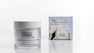 Beautypedia Reviews: philosophy renewed hope in a jar