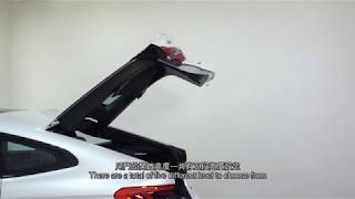 BMW 6 Series Gran Turismo - Tailgate Opening Height Adjustment