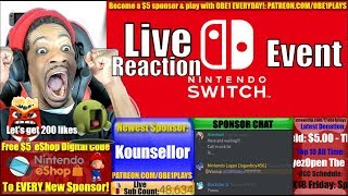Nintendo Switch Special Event Live Reaction - Nintendo Labo