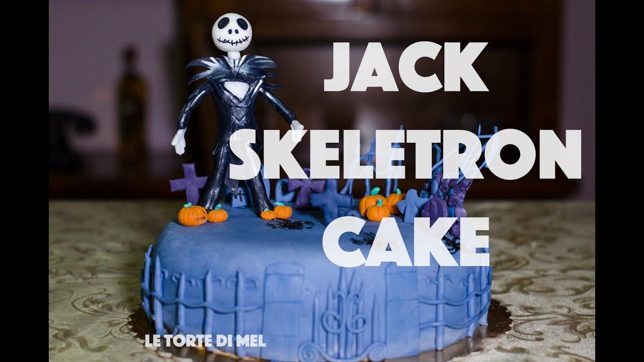 How To Make A Jack Skellington Cake Youtube