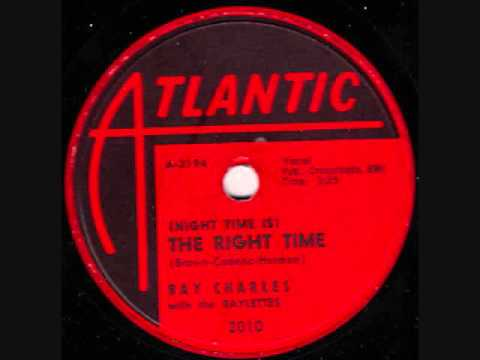 RAY CHARLES  Night Time Is The Right Time   1958