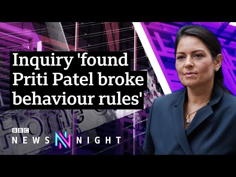 Bullying inquiry: Could UK Home Secretary Priti Patel resign? - BBC Newsnight