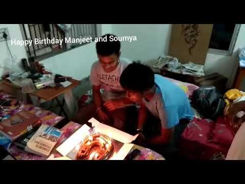 Happy Birthday To You (Manjeet And Soumya)