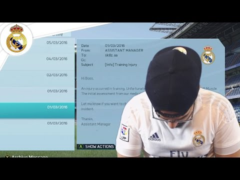 WTF REAL MADRID LOSES SUPERSTAR PLAYER! - Real Madrid FIFA 16 Career Mode #23