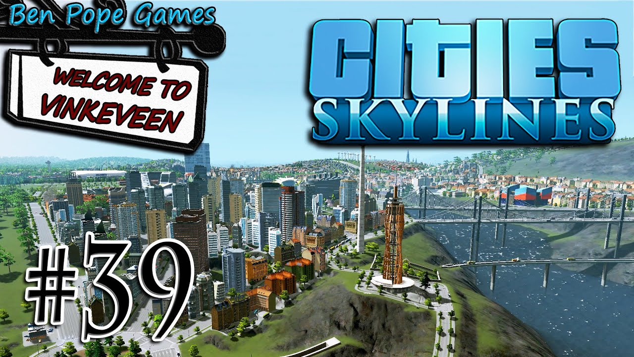 Cities Skylines European Themed City 39 Better Traffic Ai Mod Youtube