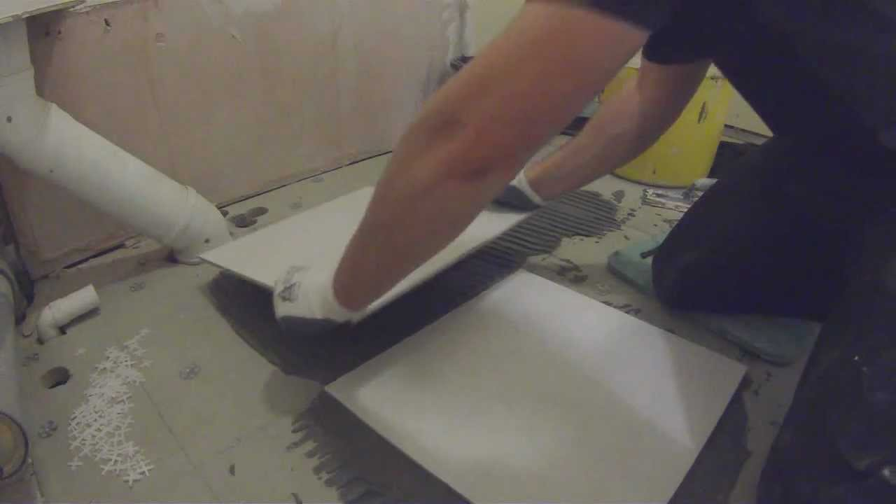 How to tile a floor youtube dailygadgetfo Gallery